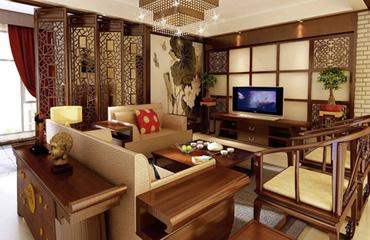 烟台装修公司如何打造一所合适的中式装修家居?