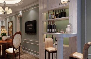 烟台装修公司分享家庭酒柜如何设计